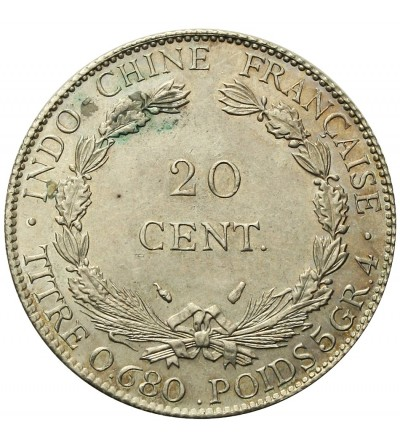 French Indochina 20 Cents 1937