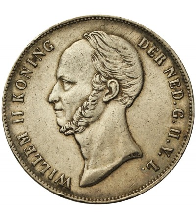 Netherlands 2 1/2 Gulden 1848