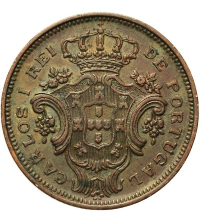 Azores 10 Reis 1901