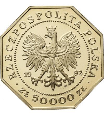 Poland 50000 Zlotych 1992, 200th Anniversary of Order Virtuti Militari - Proof