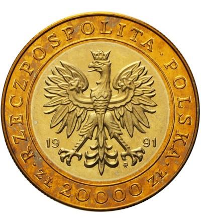 20000 złotych 1991, 225 lat Mennicy Warszawskiej