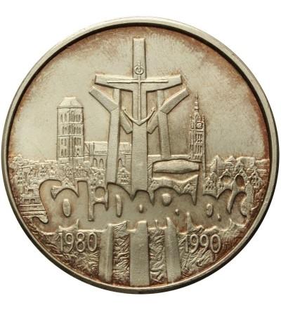 100000 złotych 1990, Solidarność - typ C