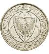 Weimar 3 marki 1930 D Rheinstrom