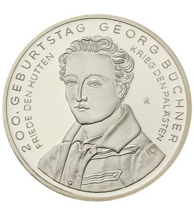 Niemcy 10 euro 2013 F, Georg Büchner