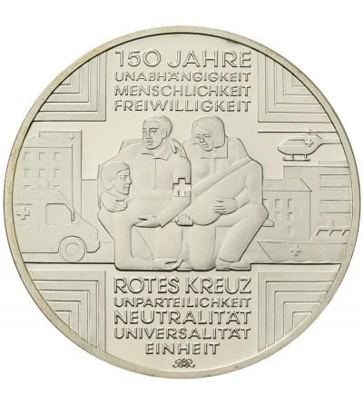 Niemcy 10 euro 2013 A, Czerwony Krzyż