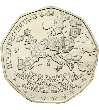 Austria 5 Euro 2004, Enlargement of the European Union