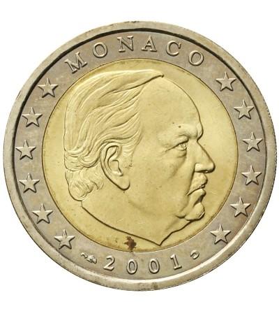 Monaco 2 euro 2001