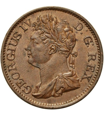 Irlandia 1/2 Penny 1823