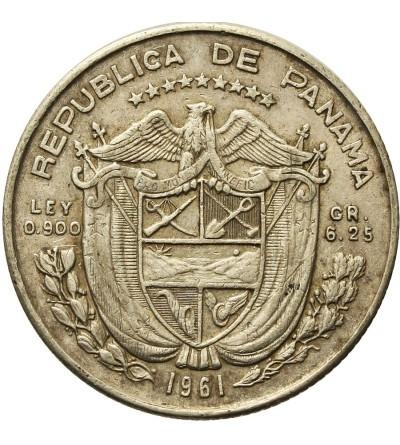 Panama 1/4 balboa 1961