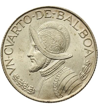 Panama 1/4 balboa 1962