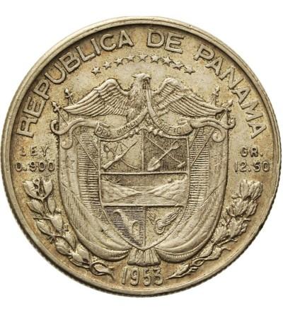 Panama 1/2 balboa 1953