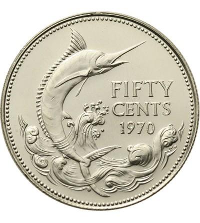 Wyspy Bahama 50 centów 1970