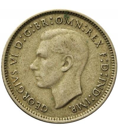 Australia 6 pensów 1946