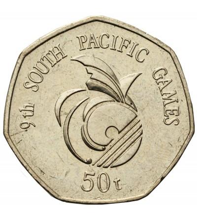 Papua Nowa Gwinea 50 Toea 1991
