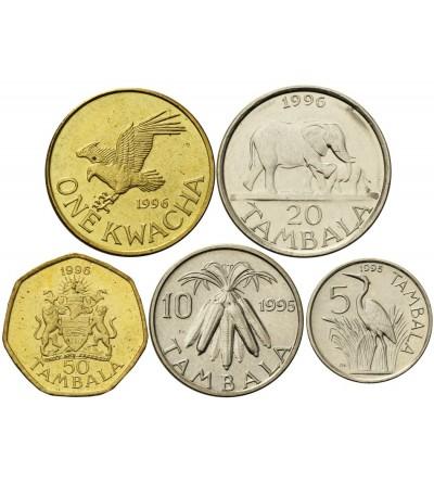 Malawi 5, 10, 20, 50 Tambala 1 Kwacha 1995 - 1996