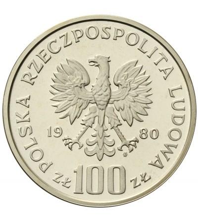 Poland 100 zlotych 1980, Olimpics