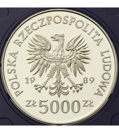Poland 5000 zlotych 1989, Torun