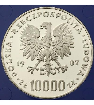 Poland 10000 zlotych 1987, John Paul II