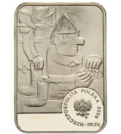 20 złotych 2005, Tadeusz Makowski. GCN PR 69