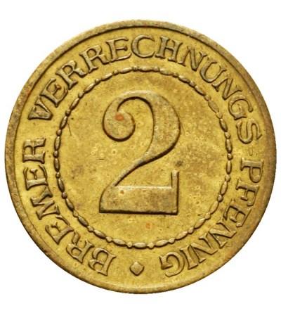 Brema 2 Bremer Verrechnungs-Pfennig bez daty (1924)