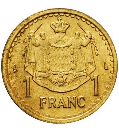 Monako 1 frank bez daty (1945)