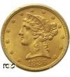 USA 5 dolarów 1886 S, San Francisco - PCGS MS 64+