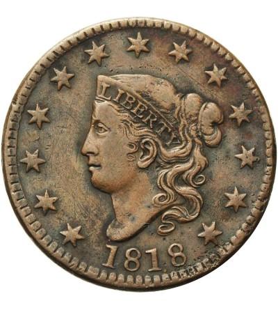 USA 1 cent 1818