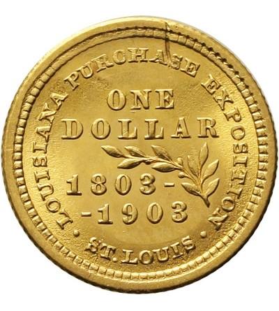 USA 1 dolar 1903, wystawa handlowa w Luizjanie