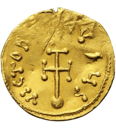 Bizancjum. Konstantyn IV Pogonates 668-685. AV Semissis