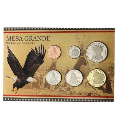 USA zestaw monet 2011, Mesa Grande