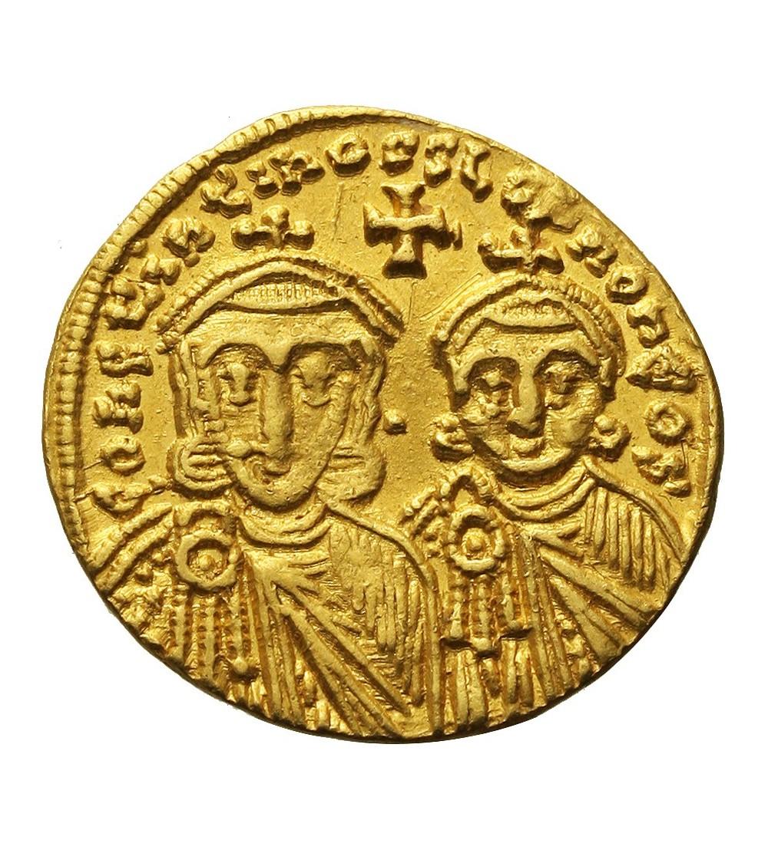 Bizancjum. Konstantyn V Copronymus 741-775. AV Solid