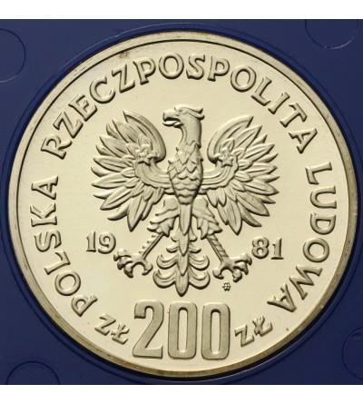 Poland 200 zlotych 1981 Wladyslaw I Herman