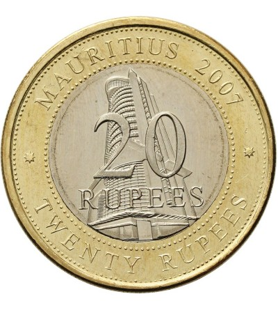 Mauritius 20 rupii 2007