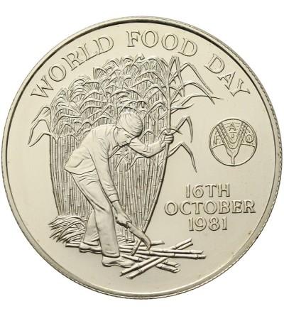 Mauritius 10 Rupees 1981, F.A.O.