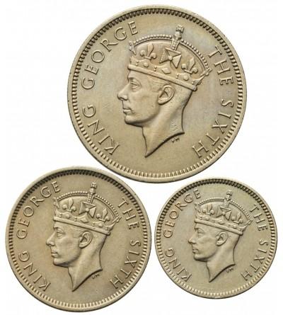 Malaje Brytyjskie 5, 10, 20 centów 1950