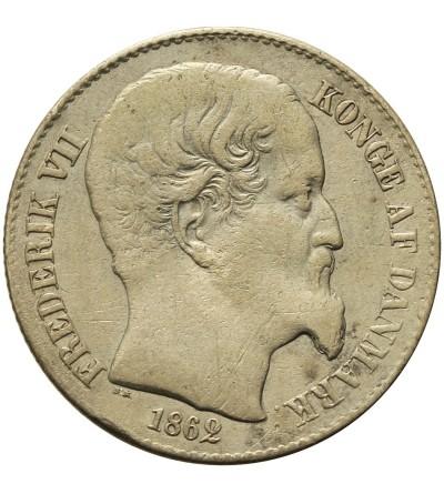 Duńskie Indie Zachodnie 20 centów 1862