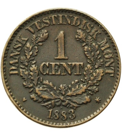 Duńskie Indie Zachodnie 1 cent 1883