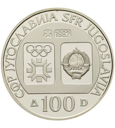 Jugosławia 100 dinarów 1982