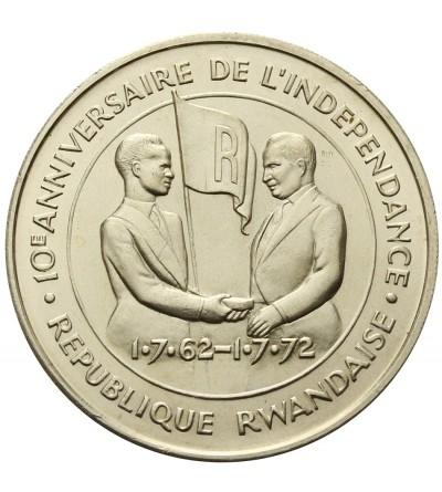 Rwanda 200 Francs 1972, F.A.O