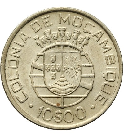 Mozambik 10 escudos 1938