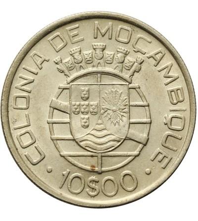 Mozambque 10 Escudos 1938