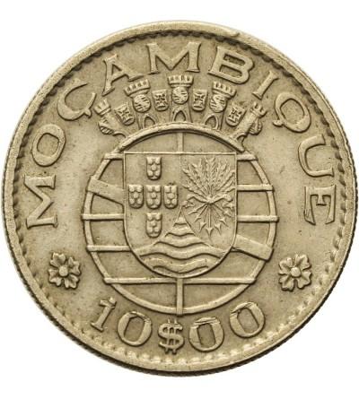 Mozambik 10 escudos 1970