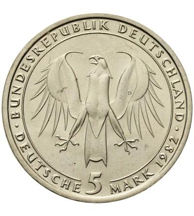 Germany 5 Mark 1982, Johann Wolfgang von Goethe