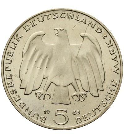 Germany 5 Mark 1983 J, Karl Marx