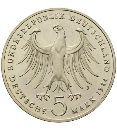 Germany 5 Mark 1984 J, Felix Bartholdy