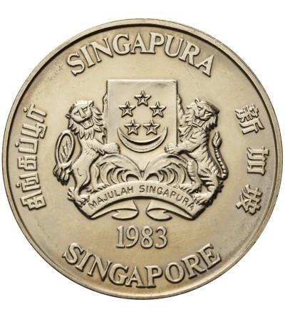 Singapore 10 Dollars 1983