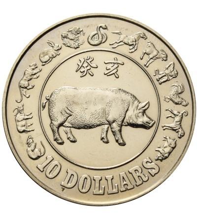 Singapur 10 dolarów 1983