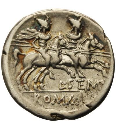 Rzym Republika. AR Denar L. Sempronius Pitio 148 r. p.n.e.