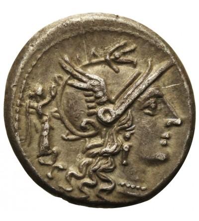 Rzym Republika. AR Denar L. Terentius Lucanus 147 r. p.n.e.