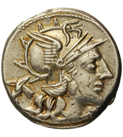 The Roman Republic. AR Denarius Junius Silanus 145 BC